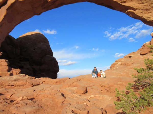 North Window in Arches National Park