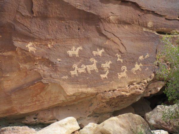 Wolf Ranch Petroglyphs