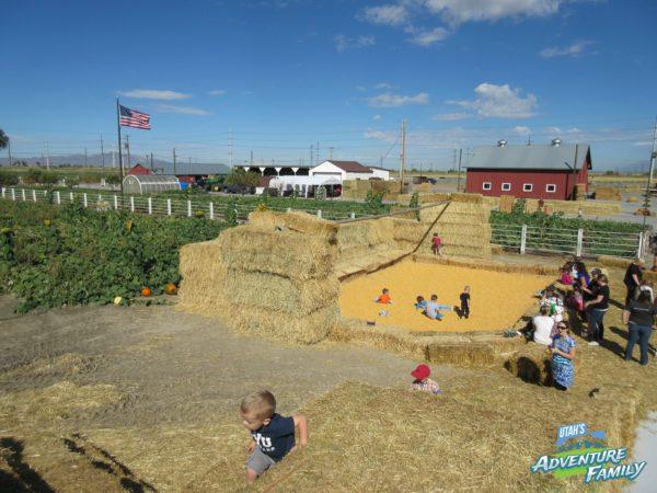 fall activities in Utah:  cross-e-ranch-6