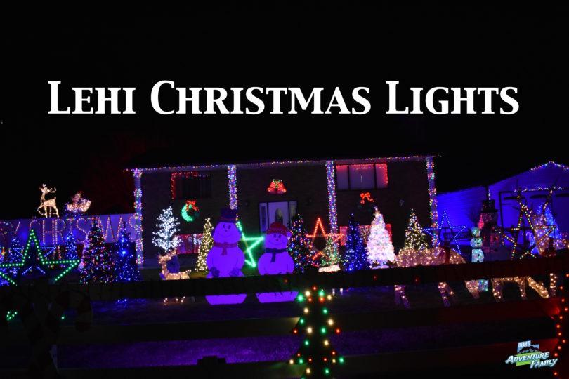 Christmas Lights To See In Utah 2021 Lehi Christmas Lights Utah S Adventure Family