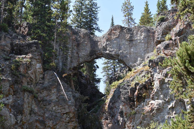 natural bridge yellowstone national park