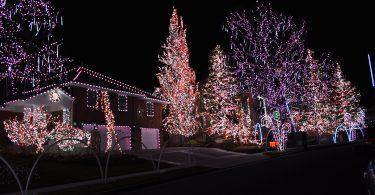 Hidden Valley Club Drive Christmas Lights
