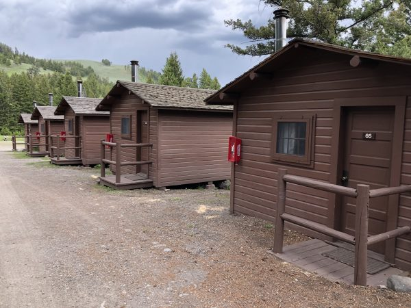 Cabins at Roosevelt