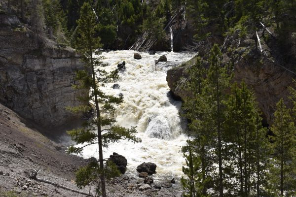 Things to do near Madison Yellowstone: Firehole Canyon waterfall