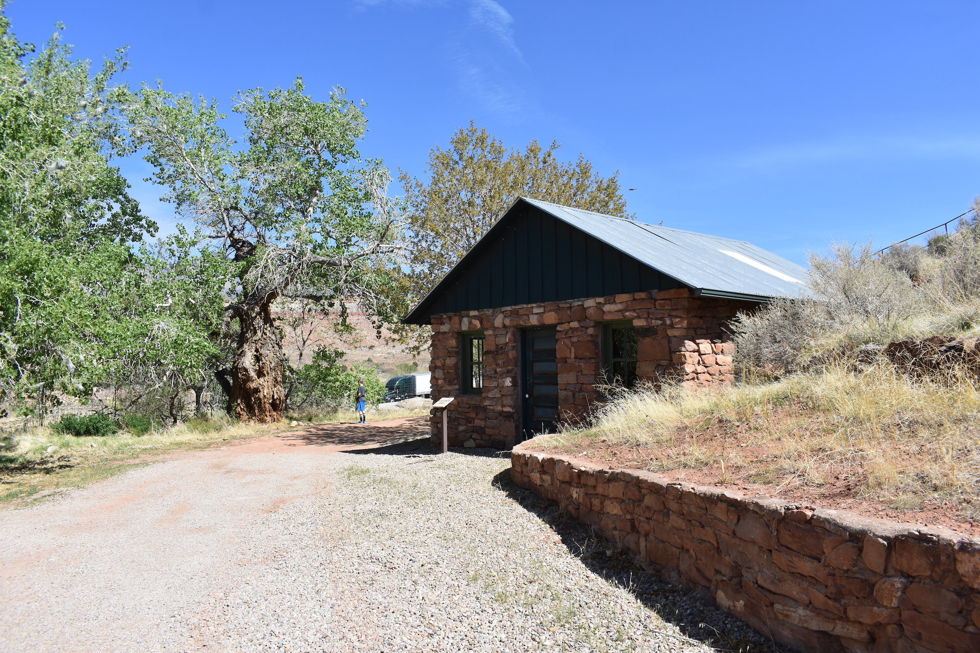 Buildings at the Civilian Conservation Corp Camp in Leeds