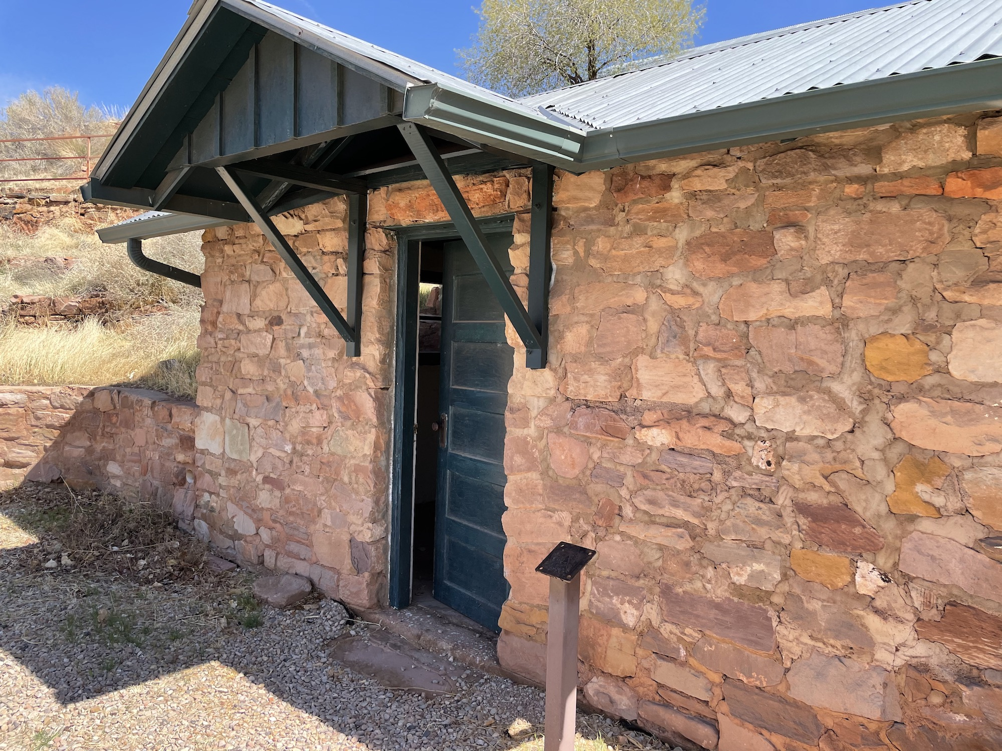 Building at the Civilian Conservation Corp Camp in Leeds
