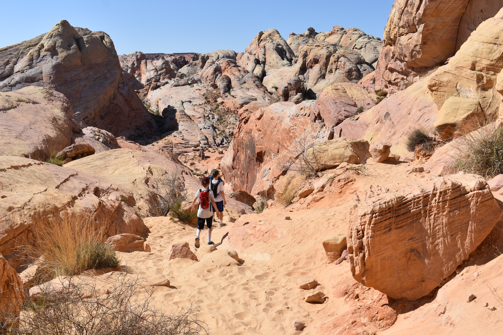 White Domes Trail Valley of Fire